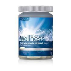 Multivitamin és ásványi anyagok étrend-kiegészítő tabletta férfiaknak