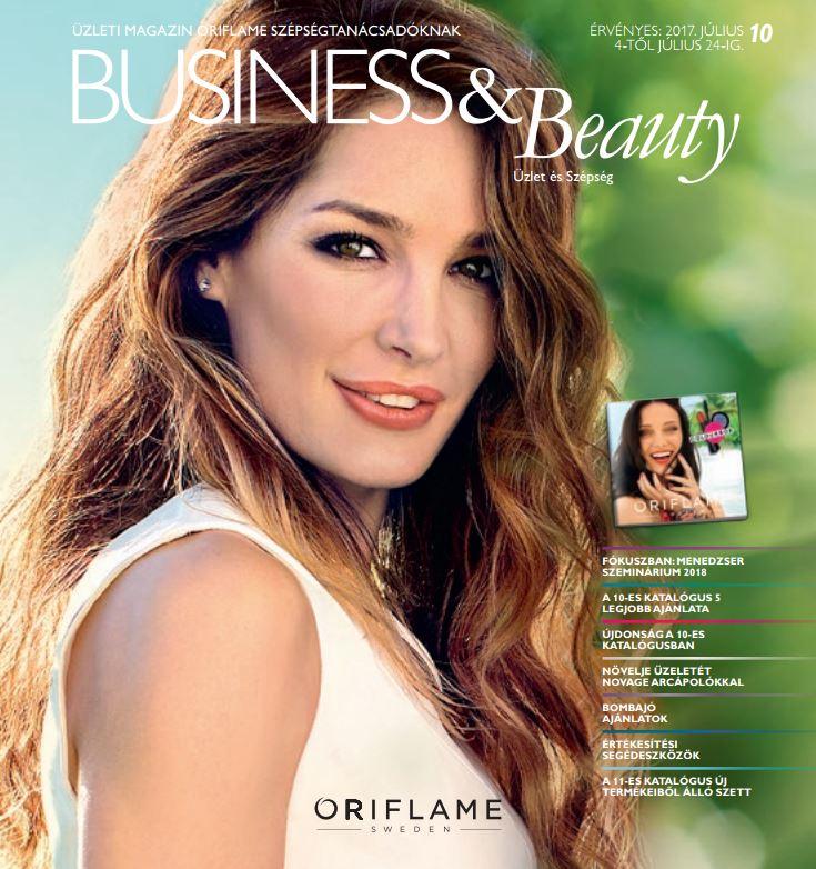 Oriflame Business&Beauty magazin 10/2017