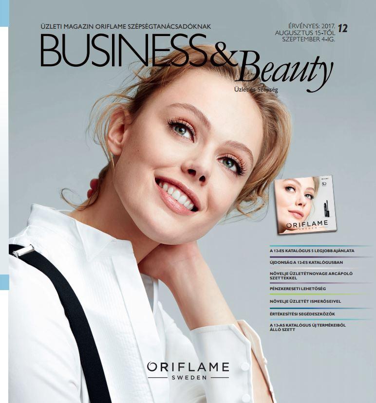 Oriflame Business&Beauty magazin 12-2017