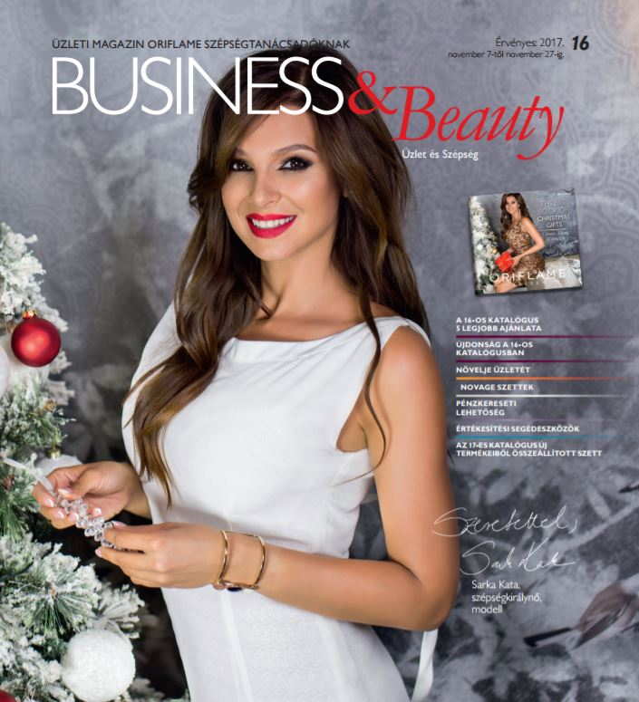Oriflame Business&Beauty magazin 16-2017
