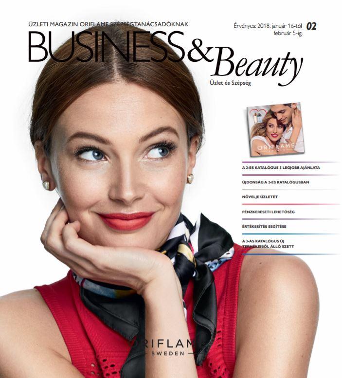 Oriflame Business & Beauty magazin 2-2018