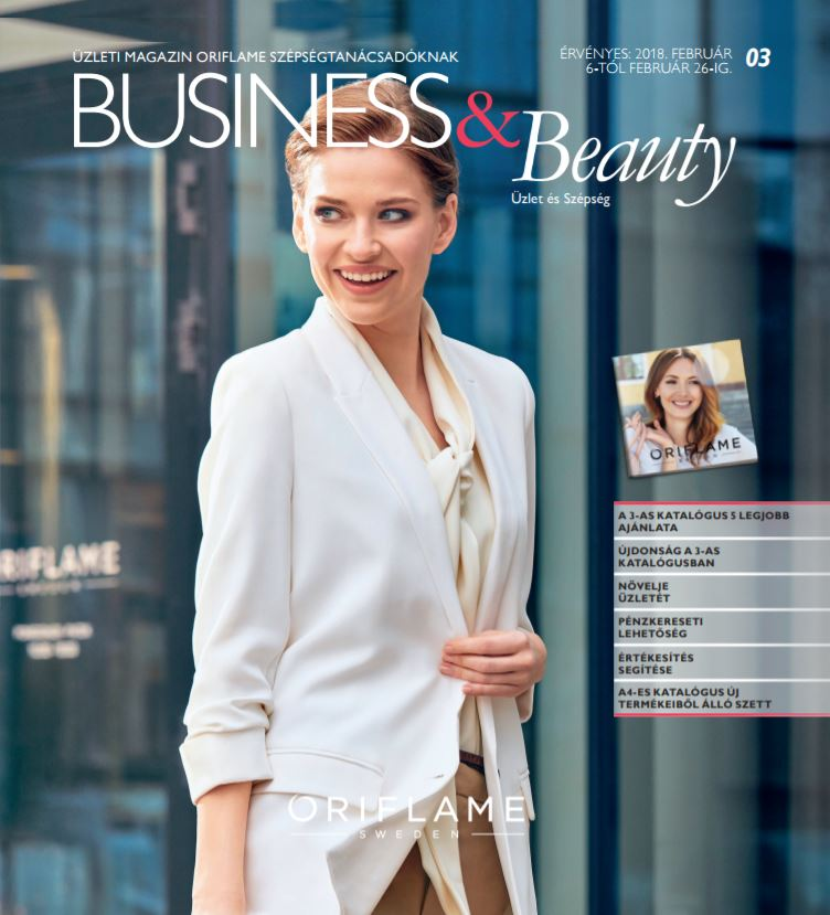 Oriflame Business & Beauty magazin 3-2018