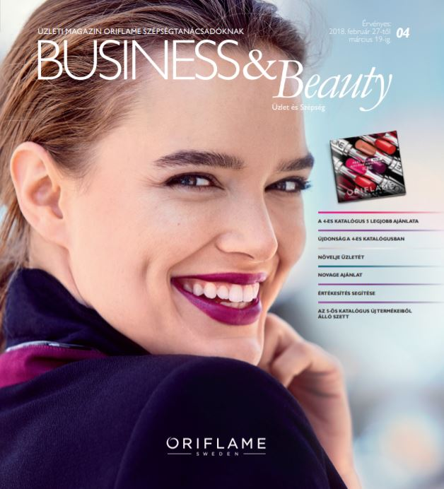 Oriflame Business & Beauty magazin 4-2018