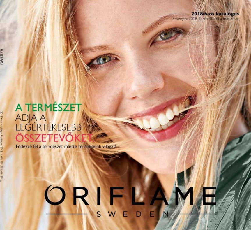Oriflame aktuális 6-os katalógus