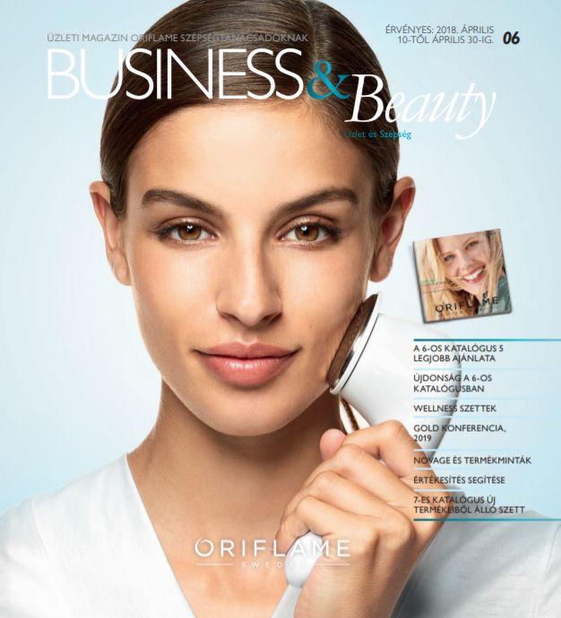 Oriflame Business & Beauty magazin 6-2018