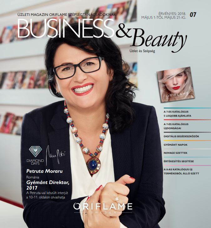 Oriflame Business & Beauty magazin 7-2018