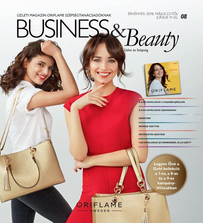 Oriflame Business & Beauty magazin 8-2018