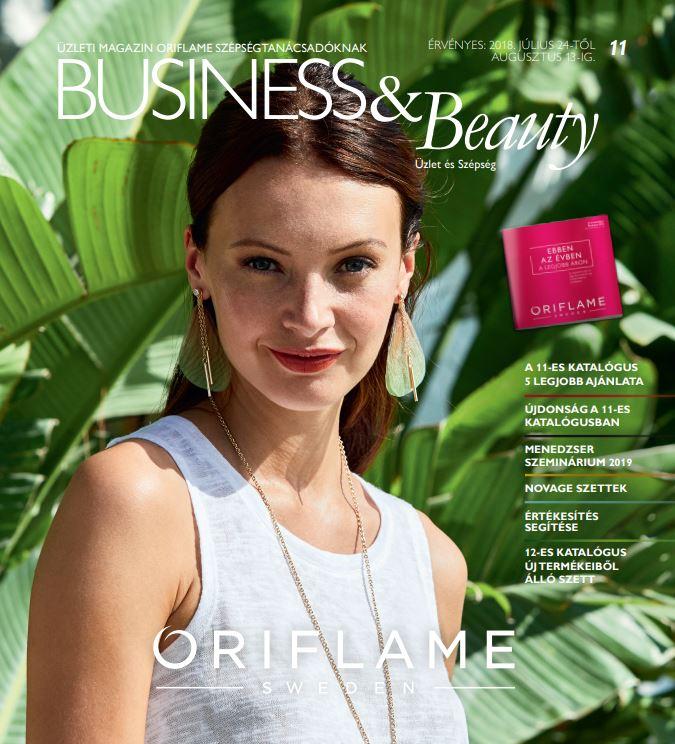 Oriflame Business & Beauty magazin 11-2018