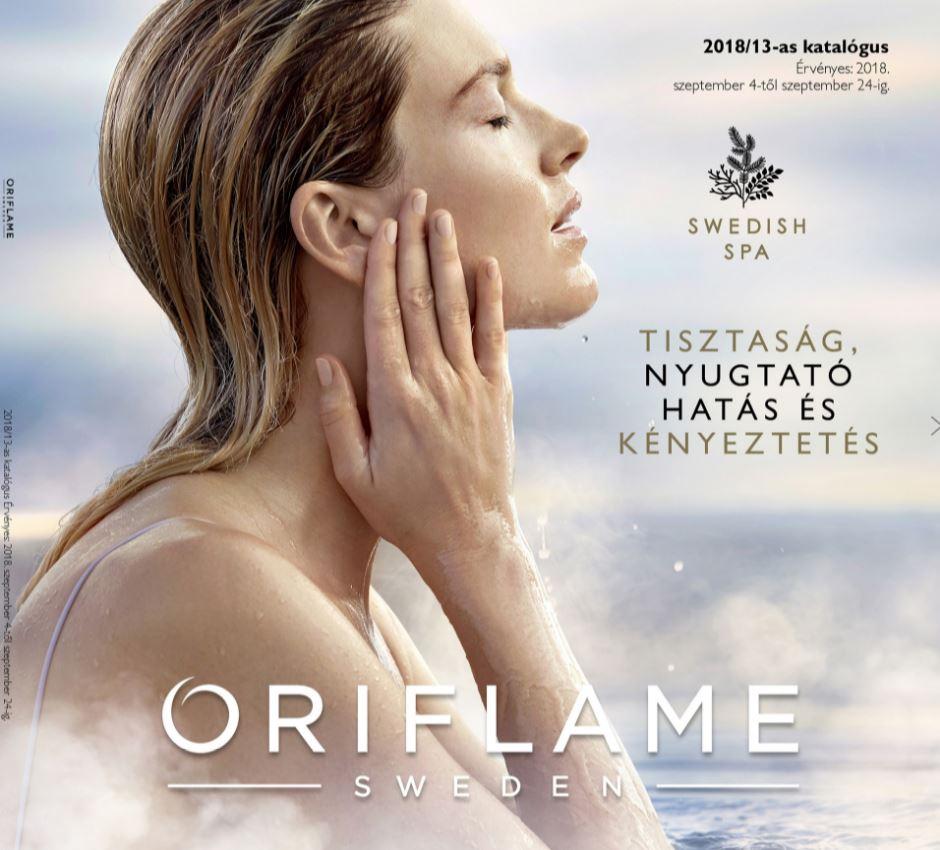 Oriflame következő 13-as katalógus