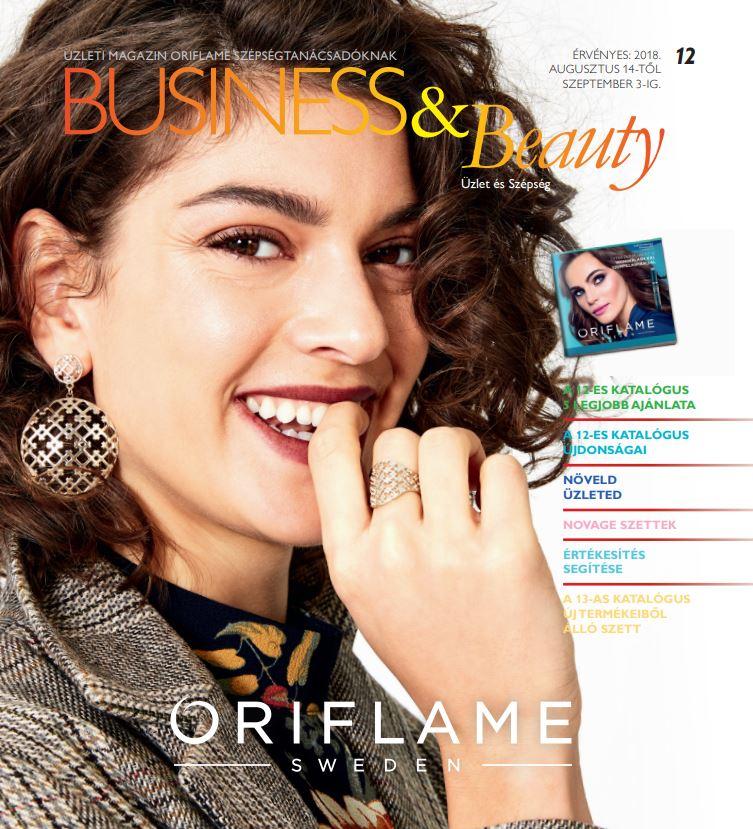 Oriflame Business & Beauty magazin 12-2018