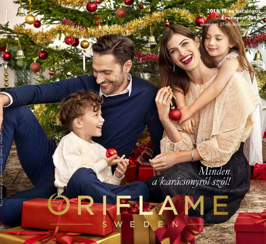Oriflame aktuális 17-es karácsonyi katalógus