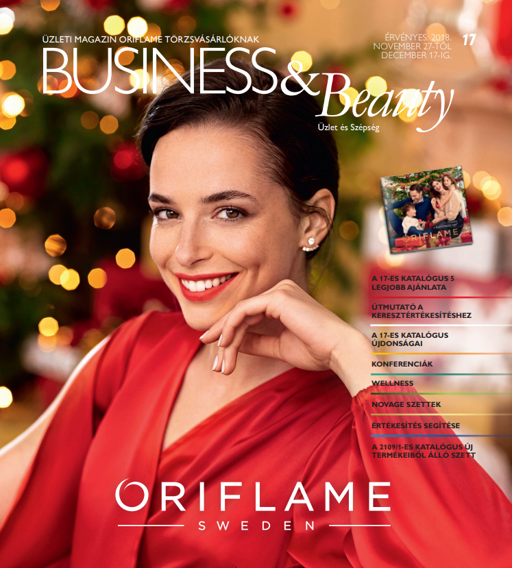 Oriflame Business & Beauty magazin 17-2018
