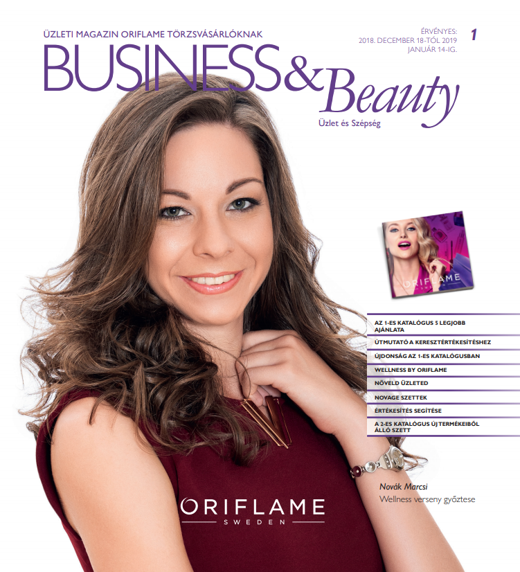 Oriflame Business & Beauty magazin 1-2019