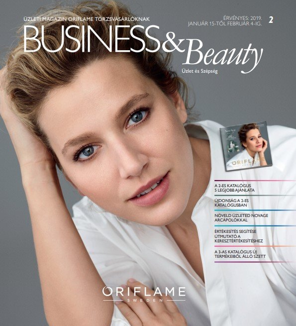 Oriflame Business & Beauty magazin 2-2019
