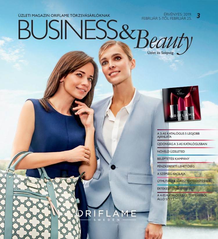 Oriflame Business & Beauty magazin 3-2019