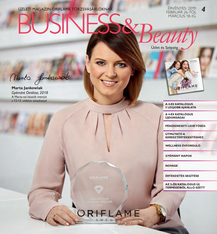 Oriflame Business & Beauty magazin 4-2019