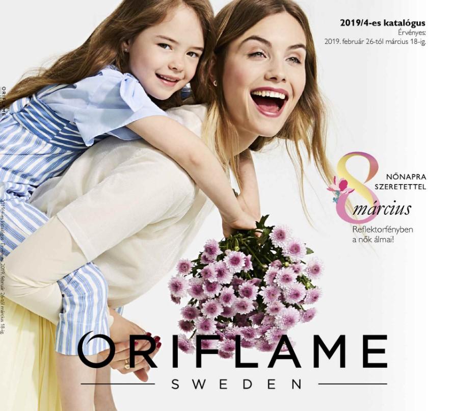 Oriflame aktuális 4-es katalógus