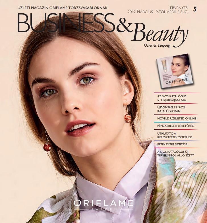 Oriflame Business & Beauty magazin 5-2019