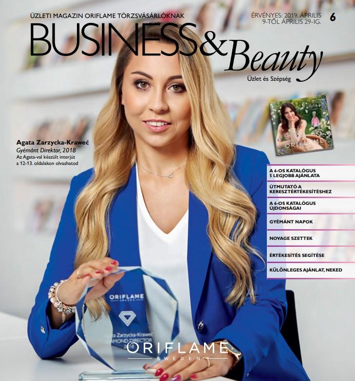 Oriflame Business & Beauty magazin 6-2019