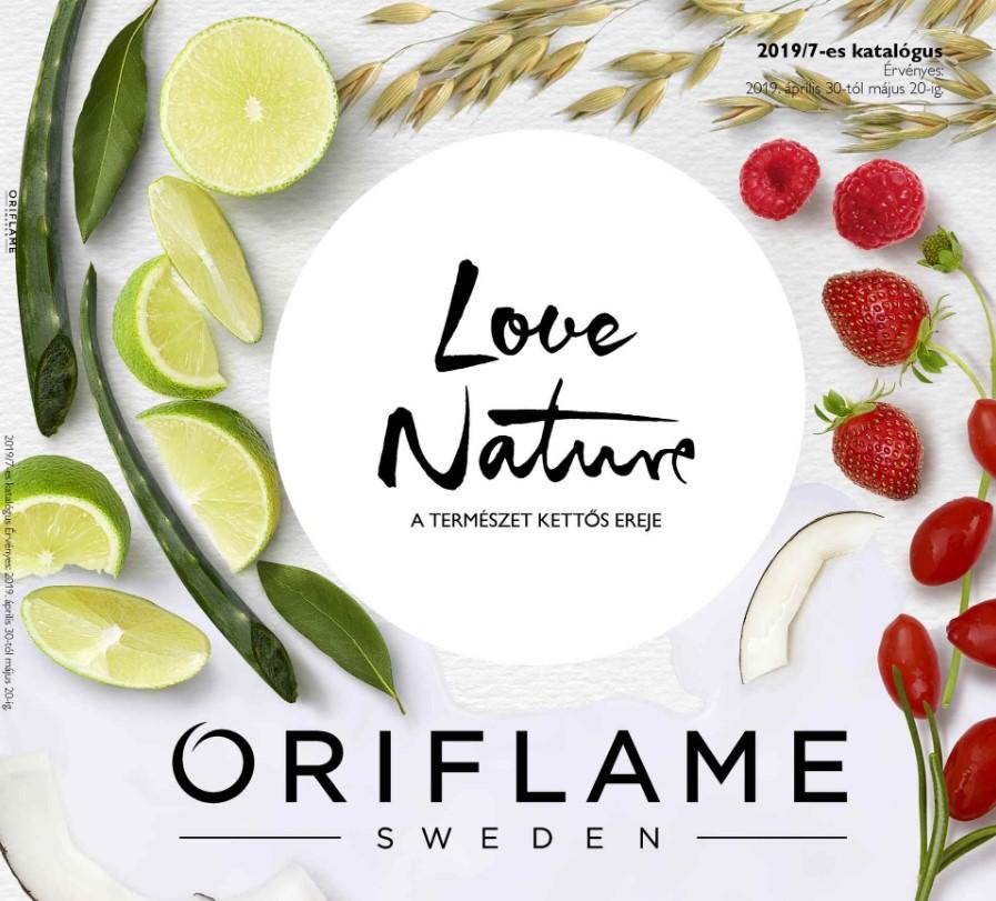 Oriflame következő 7-es katalógus