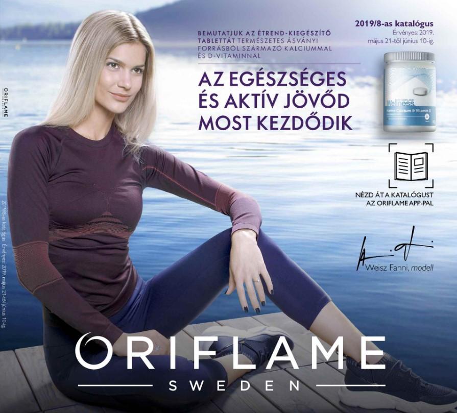 Oriflame aktuális 8-as katalógus
