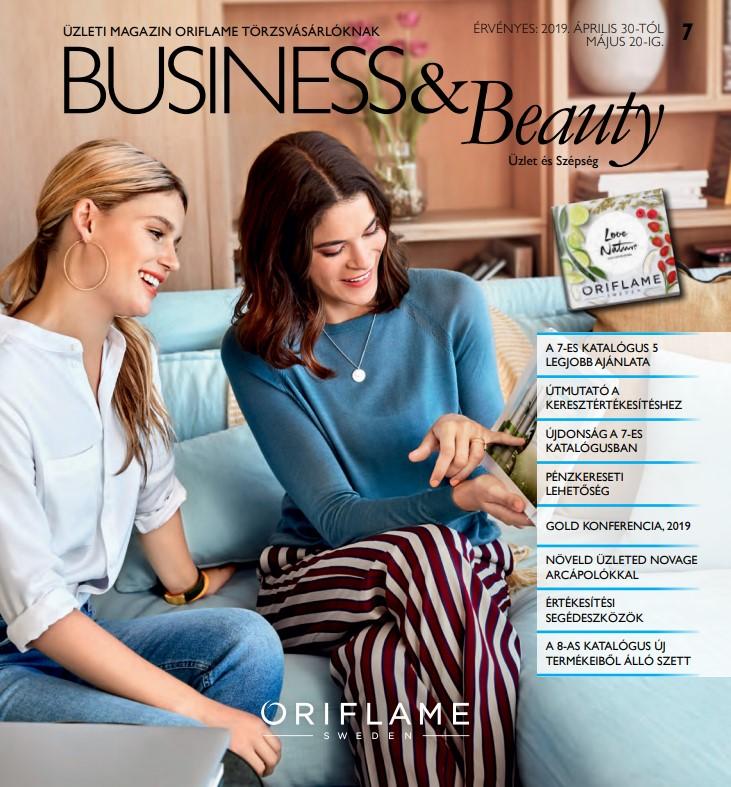 Oriflame Business & Beauty magazin 7-2019