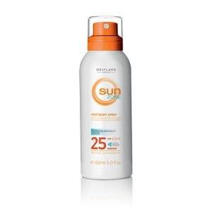 Oriflame Sun Zone Light napozóspray SPF 25 - közepes fényvédelem