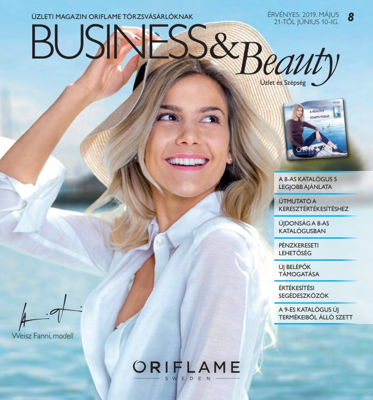 Oriflame Business & Beauty magazin 8-2019