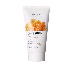 Love Nature Cold Cream arckrém tápláló és bőrvédő méhviasszal