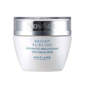 NovAge Bright Sublime Advanced bőrhalványító nappali krém SPF 20