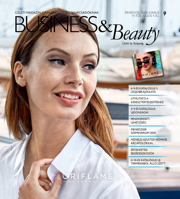 Oriflame Business & Beauty magazin 9-2019