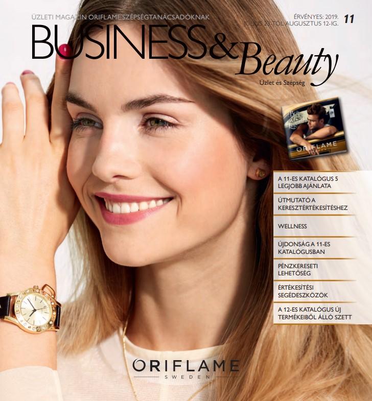 Oriflame Business & Beauty magazin 11-2019