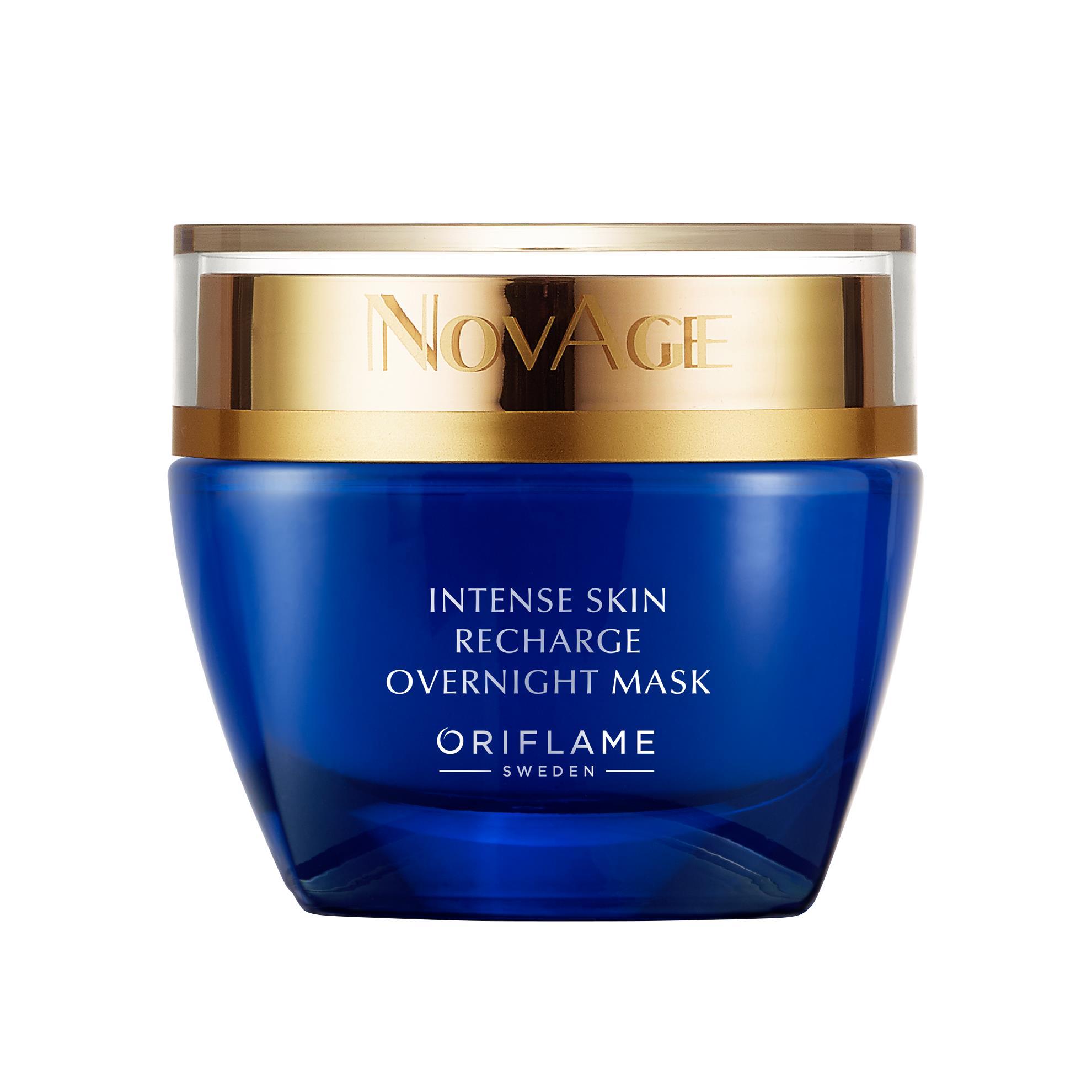 NovAge Intense Skin Recharge regeneráló éjszakai arcmaszk