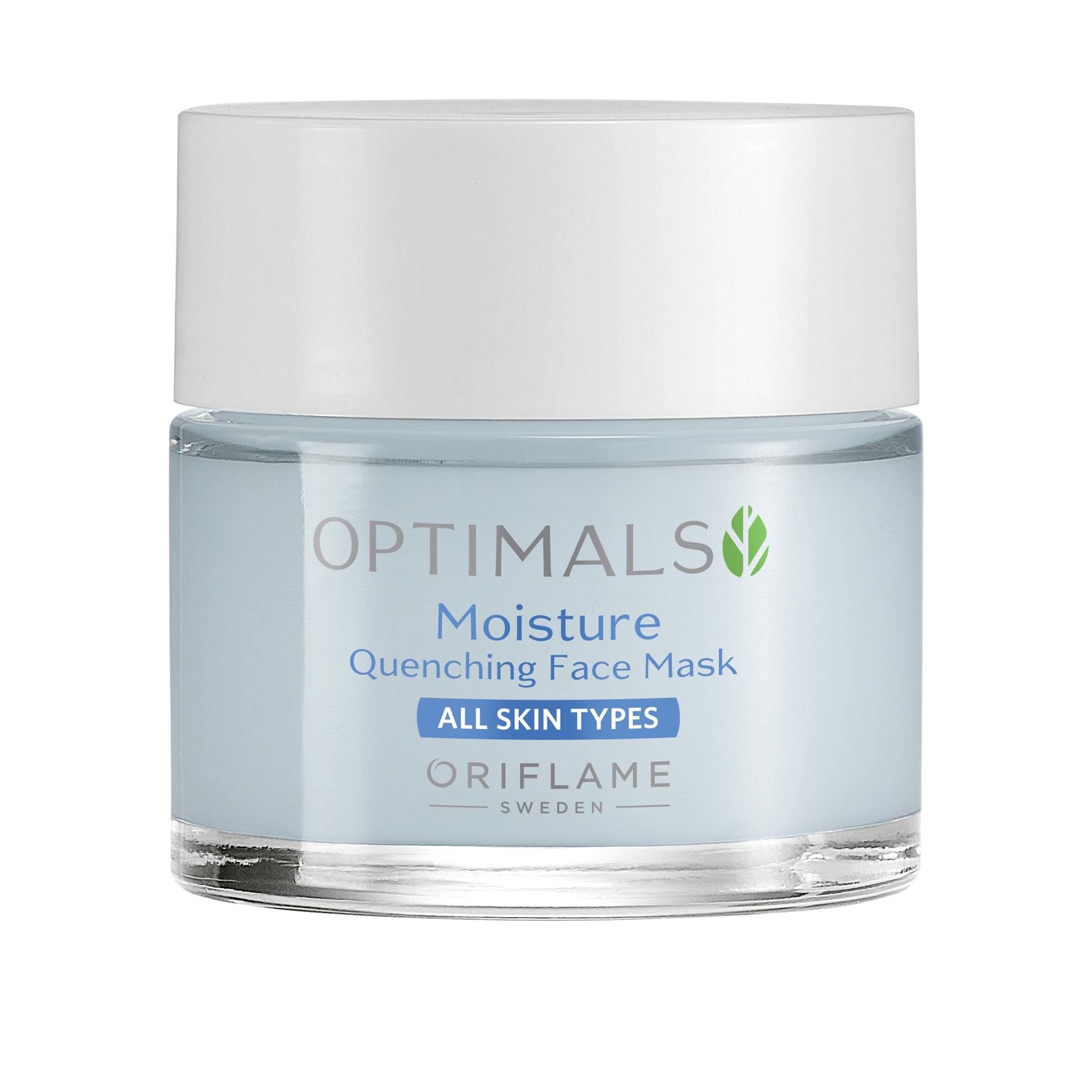 Optimals Moisture Quenching hidratáló arcmaszk