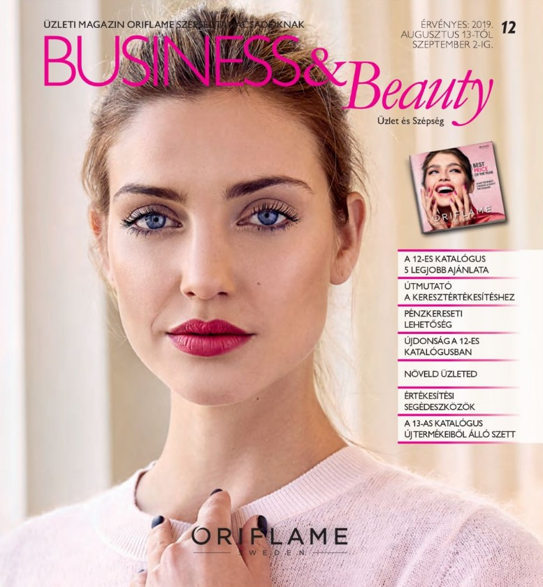 Oriflame Business & Beauty magazin 12-2019