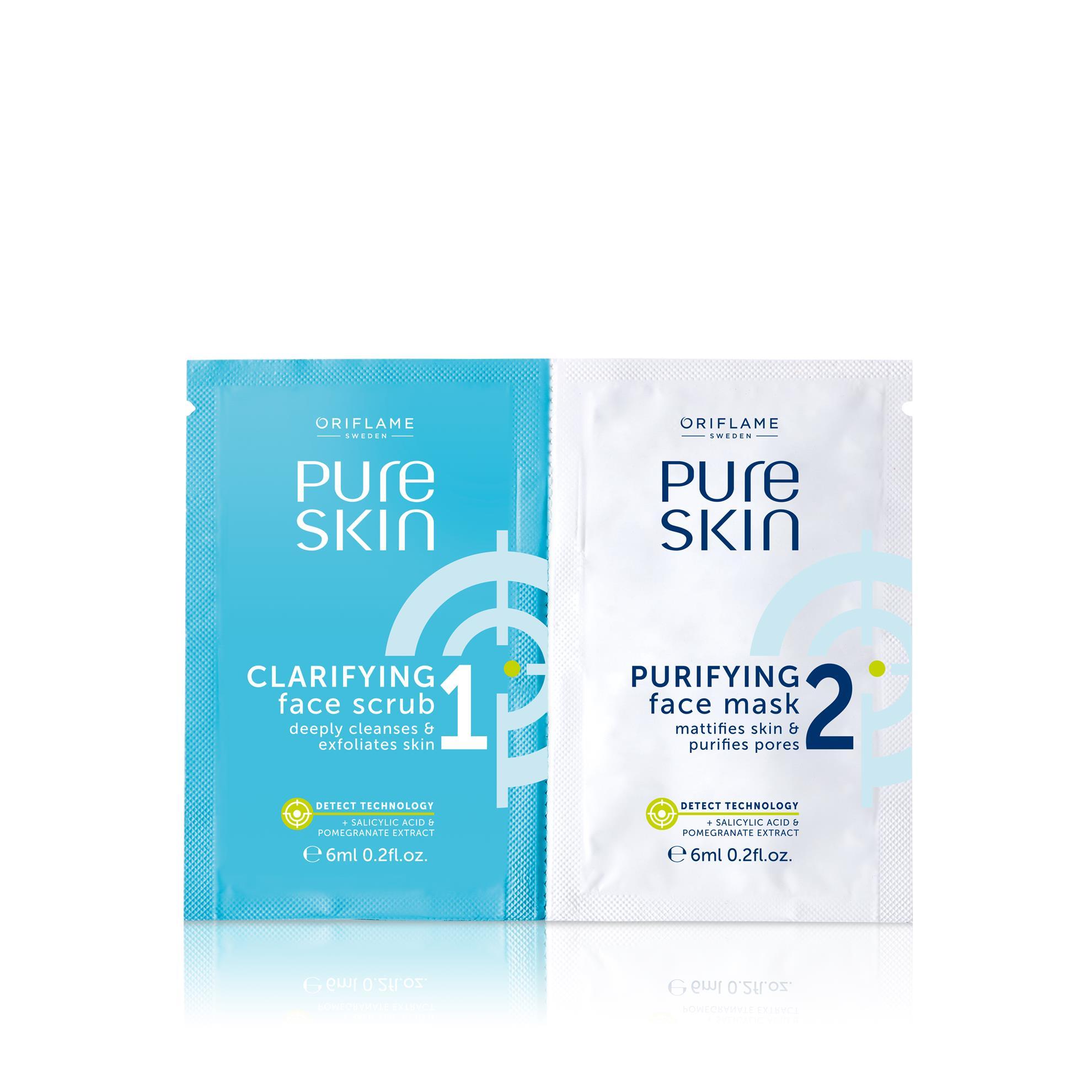 Pure Skin arcradír és arctisztító maszk