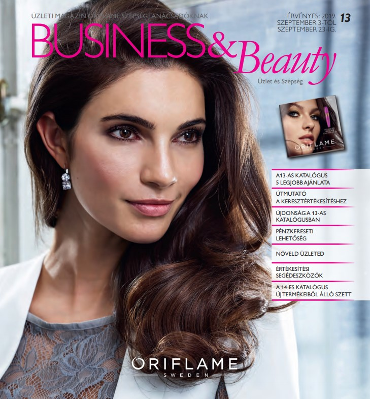 Oriflame Business & Beauty magazin 13-2019