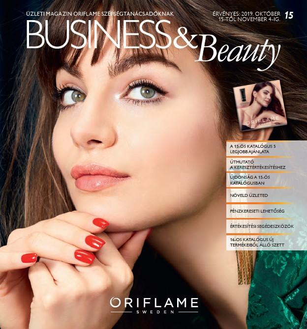 Oriflame Business & Beauty magazin 15-2019