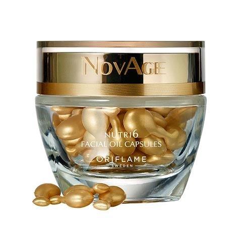 NovAge Nutri6 arcápolóolaj-kapszula