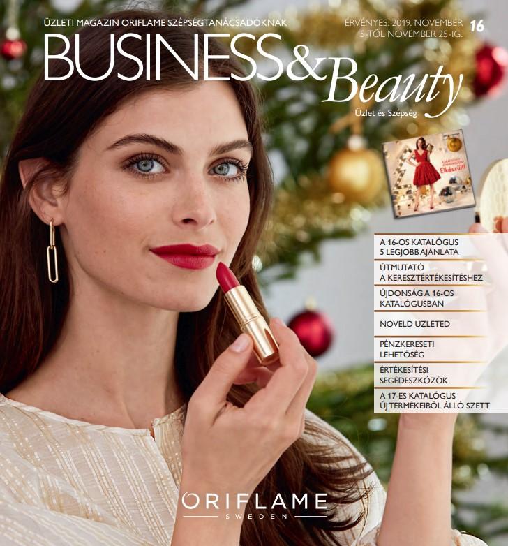 Oriflame Business & Beauty magazin 16-2019