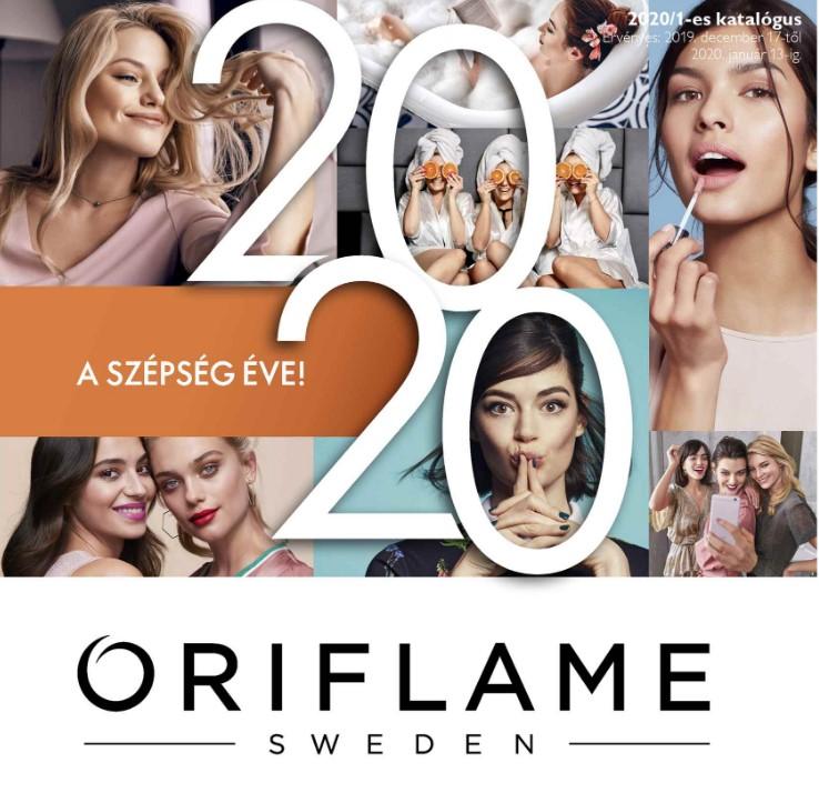 Oriflame következő évi 2020-as 1-es katalógus