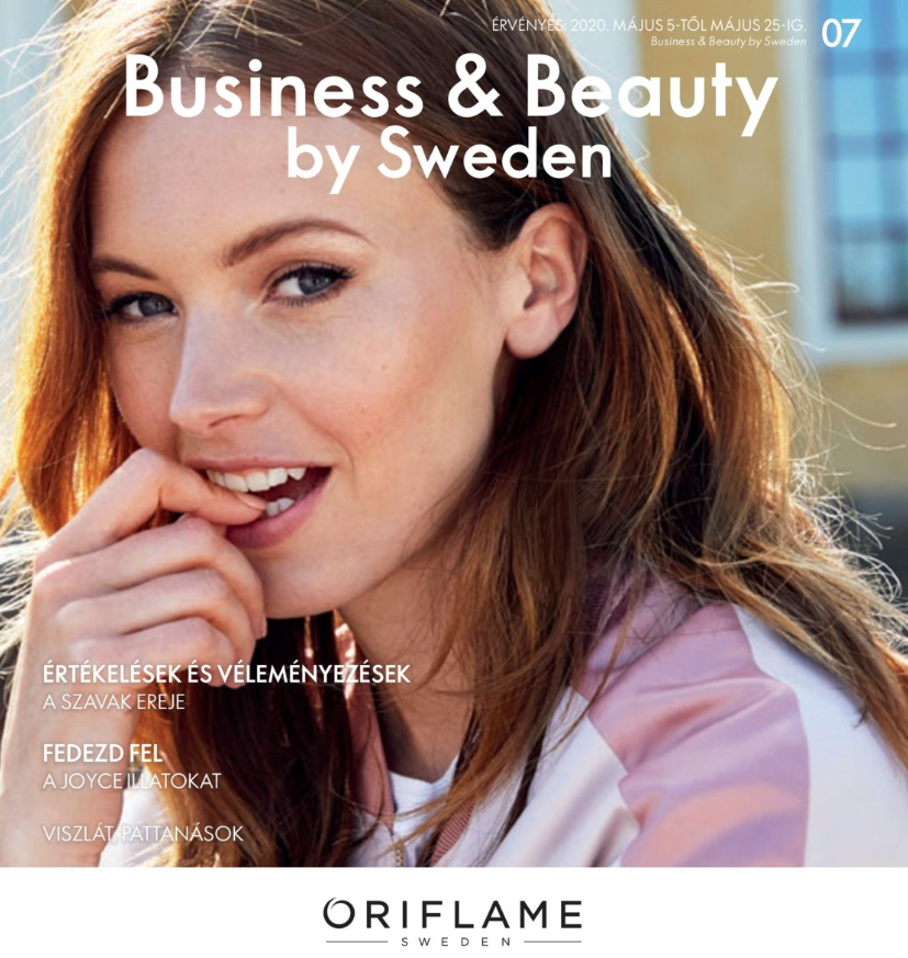 Oriflame Business & Beauty magazin 7-2020