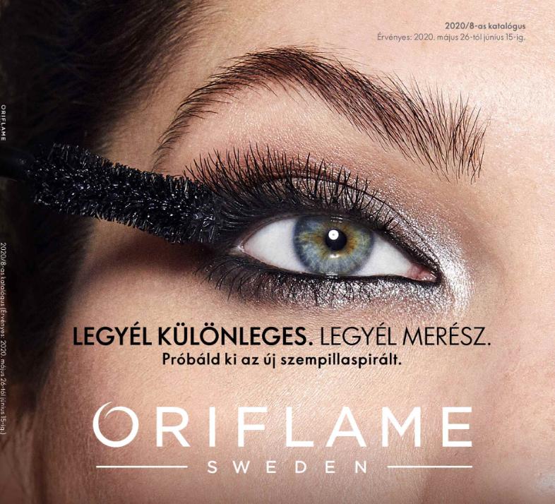Oriflame következő 8-as katalógus