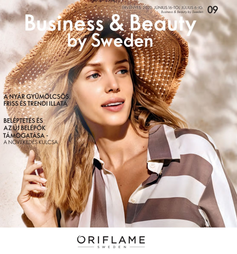 Oriflame Business & Beauty magazin 9-2020
