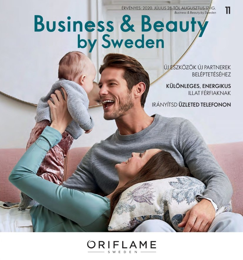 Oriflame Business & Beauty magazin 11-2020