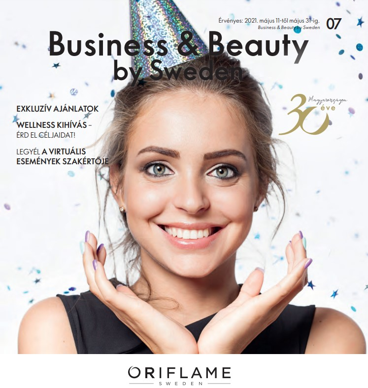 Oriflame Business & Beauty magazin 7-2021